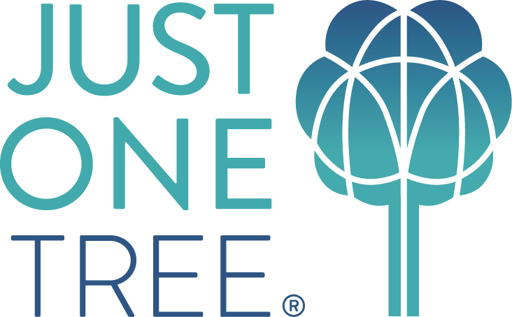 Just One Tree Logo Stacked Version